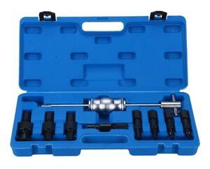 9pc Blind Inner Internal External Remover Bearing Puller Slide Hammer Set