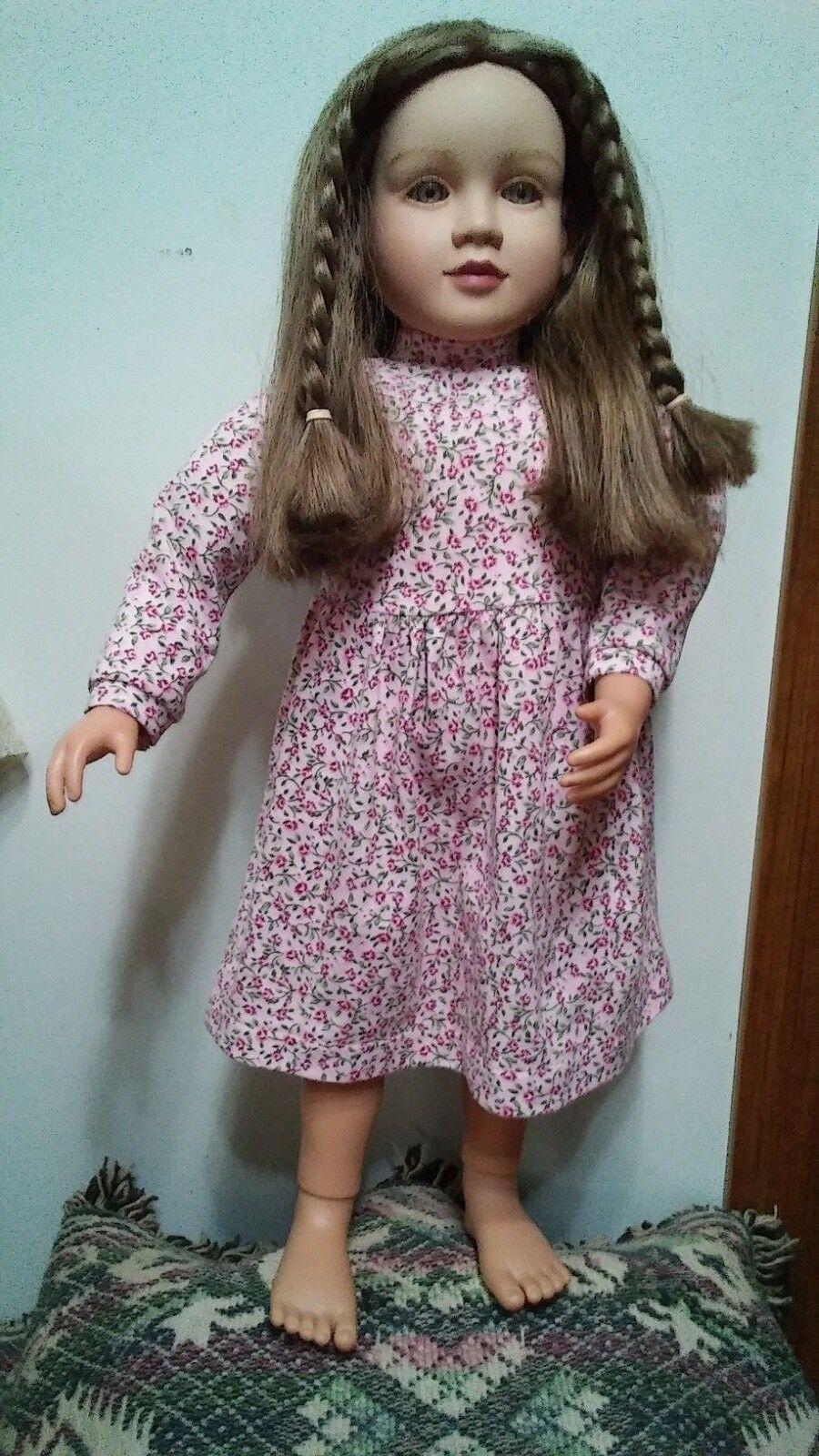 Mi Twinn Muñeca cabello largo marrón claro ojos castaños 1996 23  De Alto