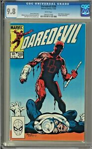 Daredevil-200-CGC-9-8-White-Pages-Bullseye-Black-Widow-app-John-Byrne