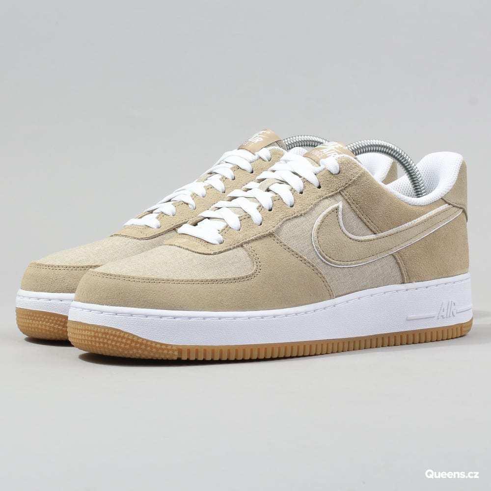 Mens Nike Force 1 ´07 315122 214 Khaki White  Brand New Size 9