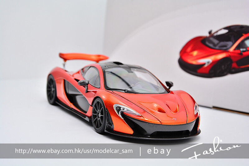 TSM 1 18 McLaren P1 Orange