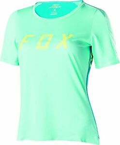 Fox Racing Womens Switchback s//s Jersey Navy//Yellow