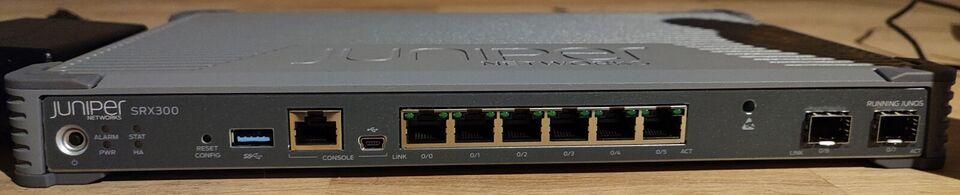 Firewall, Juniper SRX300, Perfekt