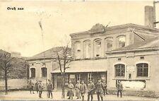 Belgien, 1. WK, 1916, Karte mit unkenntlich gemachtem Ort, militärische Gründe ?