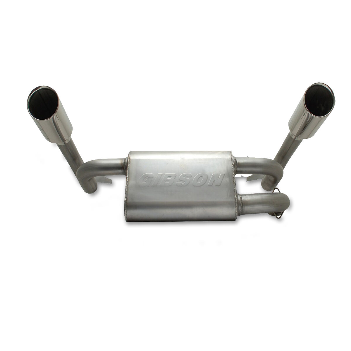 Details about Gibson Exhaust 98016 Stainless Steel Dual Slip-On Exhaust