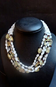 Collier 1440 Clear Roche Necklace India