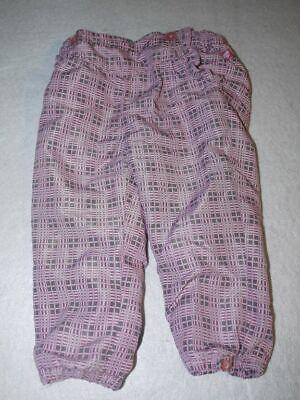 Coscienzioso Pantaloni Imbottita Con Tessuto Kidnerhose Baby Pantaloni Misura 86 Rosa A Quadri-mostra Il Titolo Originale