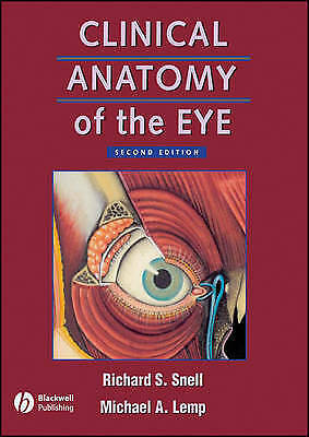 1 of 1 - Clinical Anatomy of the Eye by Michael A. Lemp, Richard S. Snell (Paperback,...