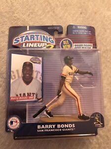 Barry Bonds Starting Lineup 2 Year 2000
