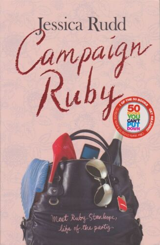 1 of 1 - Campaign Ruby by Jessica Rudd LIKE NEW!