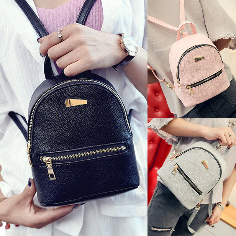 686860d14d253 Details about 1Pc Mini Backpack Purse Small Backpack Shoulder Rucksack Bag  for Women Girls