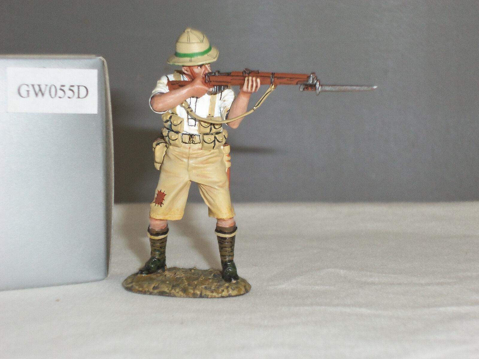 THOMAS GUNN GW055D BRITISH RIFLEMAN STANDING FIRING WORLD WAR ONE TOY SOLDIER