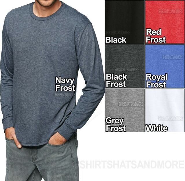 Hanes Men/'s Crewneck Undershirt T-Shirt 4-Pk Fresh IQ Comfort Blend  S M New!