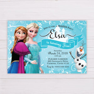 photograph about Frozen Invite Printable identified as Info around Frozen Invitation, Printable/Electronic