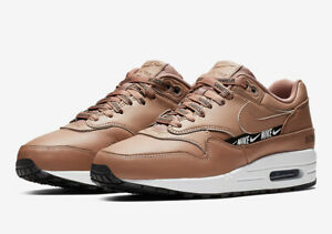 Nike Women's Air Max 1 SE Desert DustBlack White 881101 201