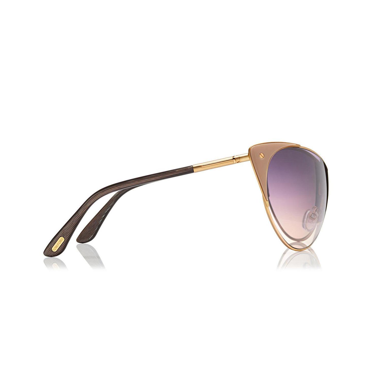 TOM FORD Damen Damen Damen Cat Eye Sonnenbrille VANDA FT0364S 74B RosaGold Grau verlauf NEU | Qualität und Quantität garantiert  | Lebendige Form  | Modern Und Elegant In Der Mode  fddce8