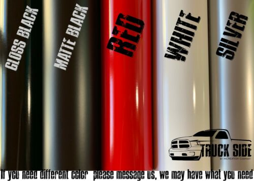 Compatible With Dodge Ram Rear Bed Side Stripes Hemi Performance Decal Stickers