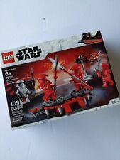 LEGO Star Wars 75225 Elite Praetorian Guard Battle Pack NEW damaged box