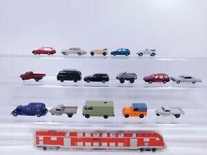 CP265-0,5# 16x Wiking H0/1:87 PKW etc: MB+VW+Land Rover+Audi+Goli etc, 2. Wahl