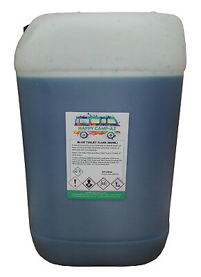 Blue Chemical Motorhome Amp Caravan Toilet Fluid Cleaner