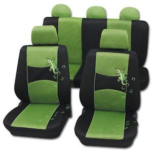 Sitzbezüge schwarz hinten KOS BMW X3