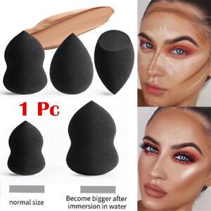 Face-Makeup-Sponge-Puff-Blending-Facial-Foundation-Contour-Black-Cosmetic-Tools