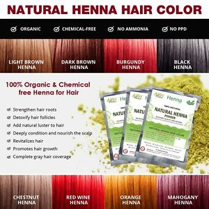3a17af2e1 Image is loading Natural-Henna-Color-100-Organic-Chemical-Free-Henna-