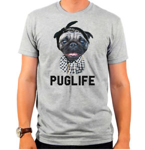 New-Authentic-Goodie-Two-Sleeves-Puglife-Pug-Life-Dog-T-shirt-Soft-SMALL-top