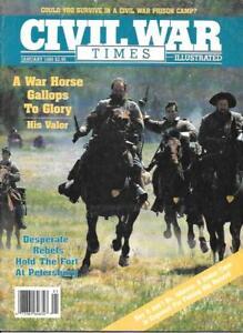 Civil-War-Times-Jan-1989-Cedar-Creek-Virginia-Petersburg-Andersonville-Georgia