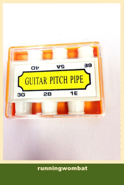 Guitar Pitch Pipe Tuner Six Tones E A D G B E