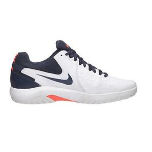 4ad12a491e9c Image is loading Mens-NIKE-AIR-ZOOM-RESISTANCE-White-Tennis-Trainers-