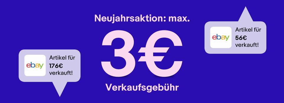 Verkaufen mit max. 3€ Gebühr* – Angebot freischalten - Verkaufen mit max. 3€ Gebühr*