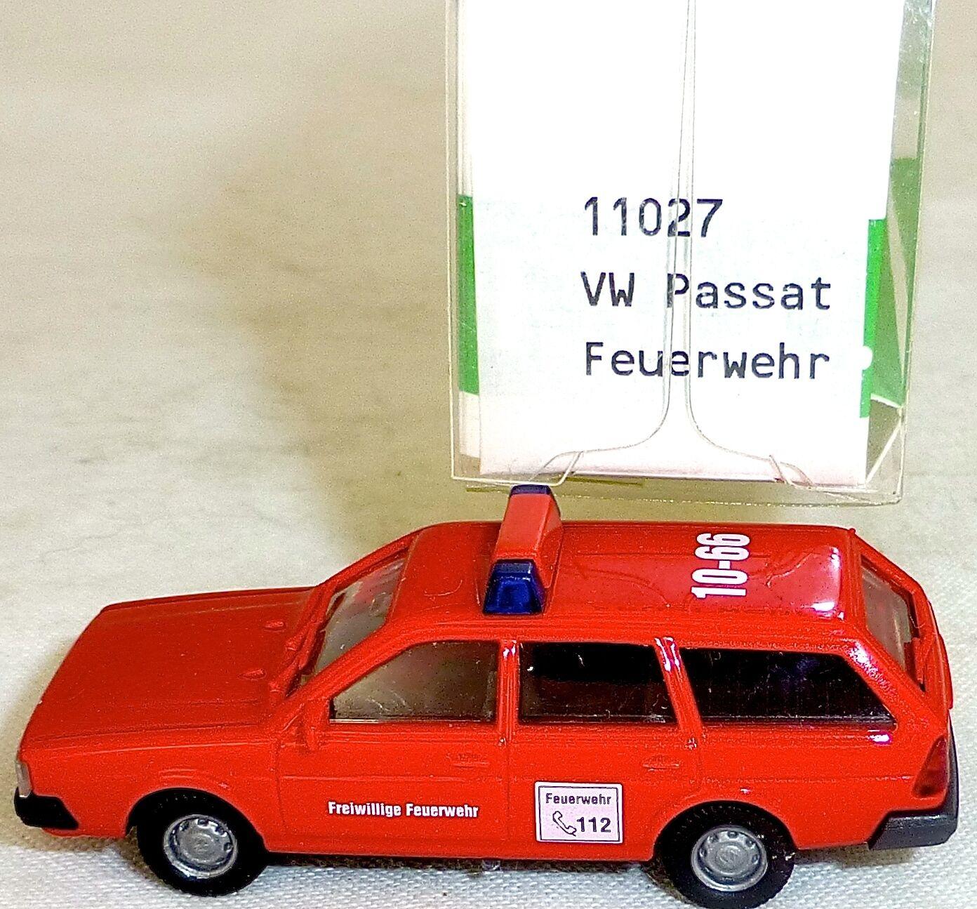 VW Passat Variant Fire Brigade Imu   Euromodell 11027 H0 1 87 Ho 1 Å