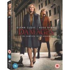 Damages Season 3 (DVD, 2012, 3-Disc Set)