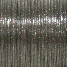 50 YARDS (45m) SPOOL MULTI SPARKLE S'GETTI REXLACE PLASTIC LACING CRAFTS