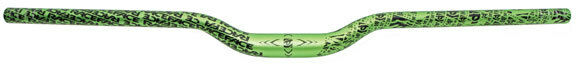Race Face Atlas MTB Mountain Bike High Riser Bar 1.25  Rise x 785mm - Green