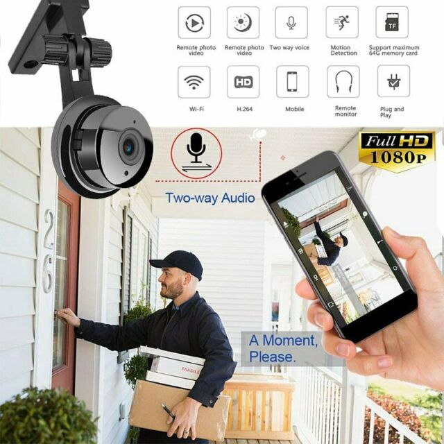HD 1080P Mini Camera Wireless Wifi IP Home Baby Security Cam DVR Night Vision US