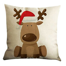 Printing Sofa Bed Home Decoration Festival Pillow Case Cushion Cover New