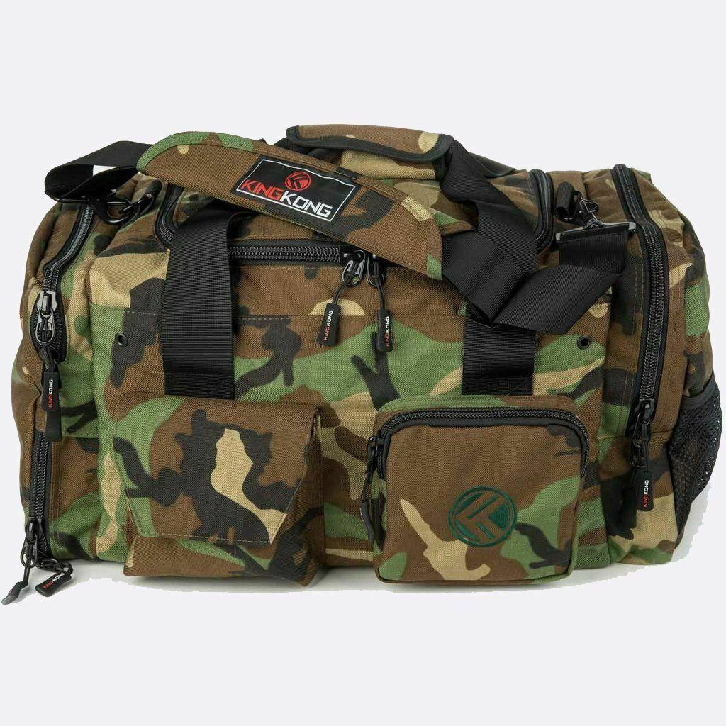 New King Kong Duffle Bag  Junior  Camo from The WOD Life
