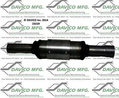 Catalytic Converter-Exact-Fit Davico Exc CA 19031