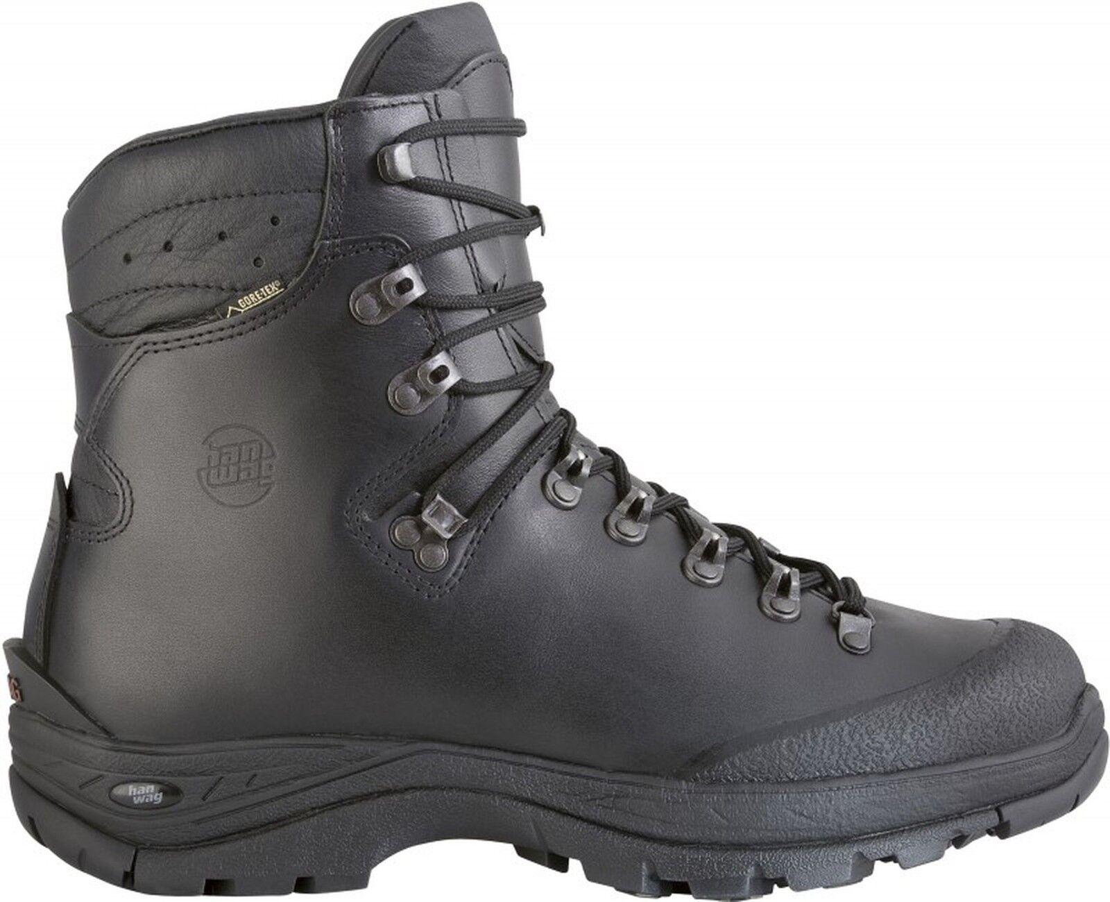 Hanwag Bergschuhe Alaska Winter GTX Men Größe 10 - 44,5  schwarz