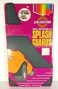 Vintage-Cal-Custom-Reversible-Splash-Guards-New-Old-Stock-in-Box-Automotive-Car