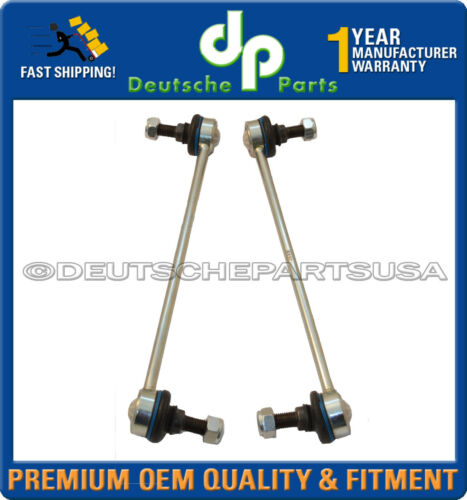 Mercedes W218 W212 4Matic Front Sway Bar Link Links 2123202689 2123202589 Set 2