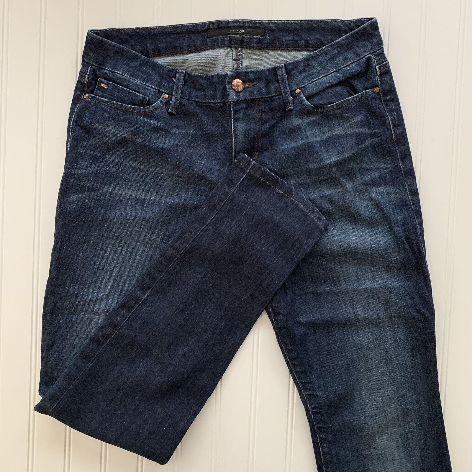 Joes Women's Chelsea Jeans Skinny Size 28 Medium Wash Inseam 30