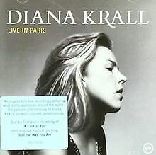 Live-in-Paris-von-Diana-Krall-CD-Zustand-gut