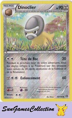 Carte Pokemon WATTOUAT 38//114 Reverse XY11 Offensive Vapeur FR NEUF
