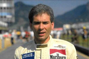 9x6-Photograph-Oscar-Larrauri-F1-Eurobrun-Portrait-1988