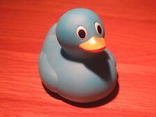 Rubber Blue Duck Bathroom Novelty Bath Fun Play Toy Ornament Collectors Item B