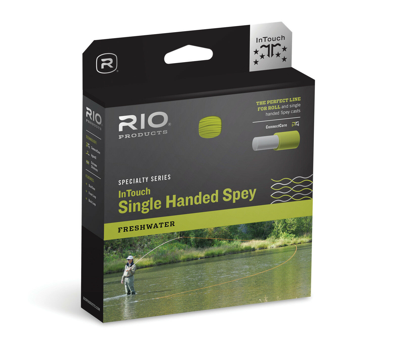 RIO InTouch Single Hand Spey 3D F H I  Fly Line - WF5F H I - New  various sizes