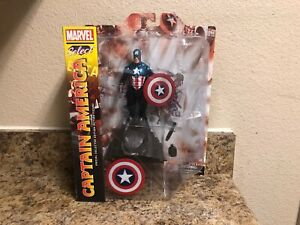 Diamond-Select-Toys-DST-Marvel-CAPTAIN-AMERICA-Action-Figure-NEW